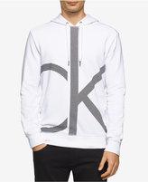 Calvin Klein Jeans Men's Enlarged Logo Graphic-Print Hoodie