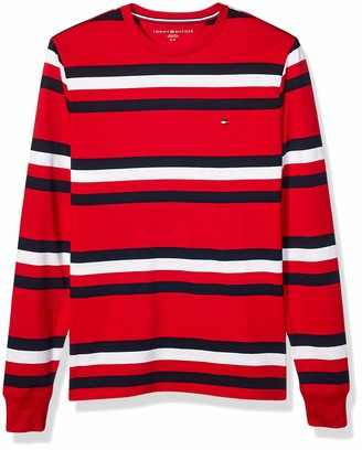 Tommy Hilfiger Long Sleeve Crewneck Graphic T Shirt