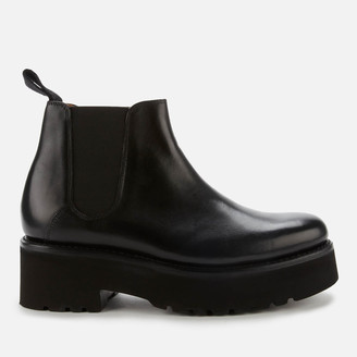 Grenson Women's Naomi Leather Chelsea Boots - Black