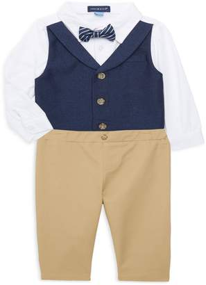 Andy & Evan Baby Boy's 2-Piece Vest, Bodysuit & Pants Set