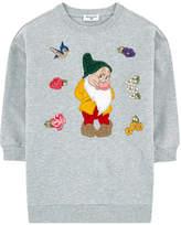 MonnaLisa Embroidered sweatshirt dress