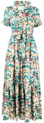 La DoubleJ Long And Sassy floral print dress