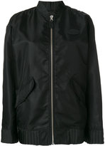 MM6 MAISON MARGIELA zipped bomber jacket