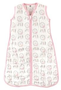 Hudson Baby Muslin Wearable Safe Sleeping Bag Blanket, 0-24 Months