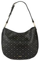 Calvin Klein Studded Leather Hobo Bag