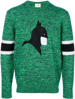 Iceberg 'Batman' sweater - men - Cotton/Wool - S