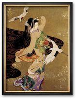 "Art.com Dance of the Cranes"" Framed Art Print by Haruyo Morita"