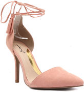 Qupid Mixi Lace-Up Pumps