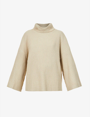 Pretty Lavish Lina turtleneck knitted jumper