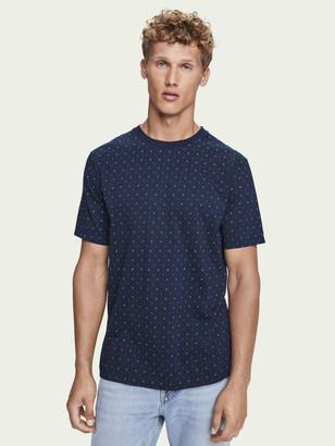 Scotch & Soda 100% cotton short sleeve crewneck t-shirt | Men