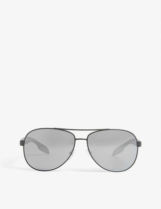 Prada Linea Rossa PS53P pilot-frame sunglasses
