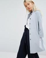 NATIVE YOUTH Oversized Kimono Sleeve Jacket