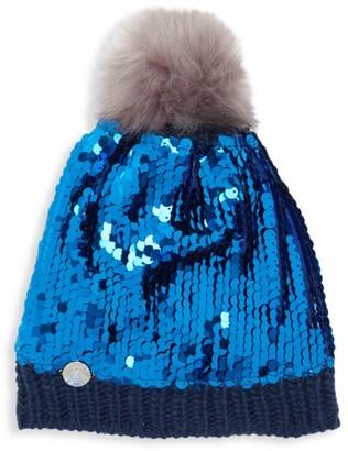 Charm It! Disney's Frozen 2 Elsa Sequin Knit Hat