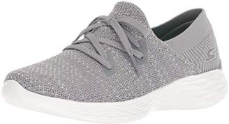 Skechers Women's You- You - Prominence Slip On Trainers, Grey Gry, 4 (37 EU)