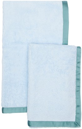 Alessandro Di Marco Set Of 2 Cotton Terrycloth Towels
