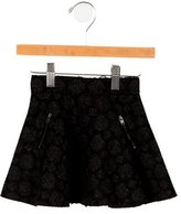 Bonpoint Girls' Patterned Knit Skirt w/ Tags