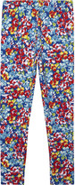 Ralph Lauren Floral print cotton leggings 2-6 years