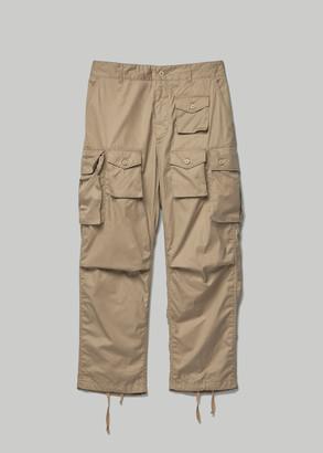 Engineered Garments Men's FA Pant in Khaki Size Large