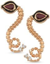 Dragon Optical Selda Jewellery Baby Ruby Earrings