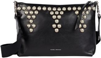 Isabel Marant Nessah Studded Leather Crossbody Bag