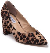 Steve Madden Savy Pointed Toe Block Heel Pump