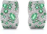 Effy Jewelry Gemma Emerald and Diamond Earrings, 2.85 TCW