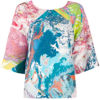 Raeburn multiprint T-shirt