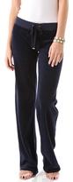 Juicy Couture Velour Original Leg Drawstring Pants