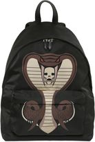 Givenchy Cobra Printed Nylon Backpack