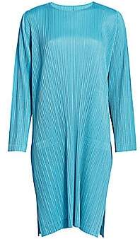 Pleats Please Issey Miyake Women's Monthly Colors January Shift Dress