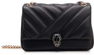 Bulgari Serpenti Cabochon Shoulder Bag