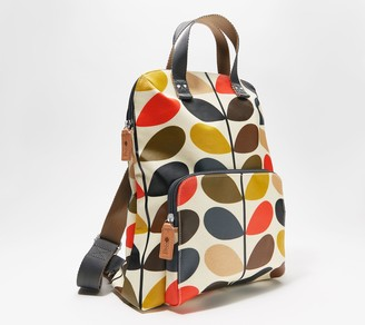 Orla Kiely Coated Canvas Backpack - Bestie