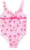 Pink Platinum Pink & White Floral One-Piece - Toddler
