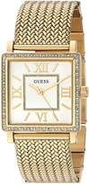 GUESS GUESS? Women's Quartz Stainless Steel Automatic Watch, Color:-Toned (Model: U0826L2)