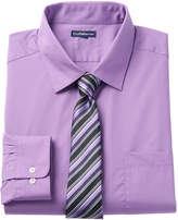 Croft & Barrow Men's Classic-Fit Striped Dress Shirt and Patterned Tie
