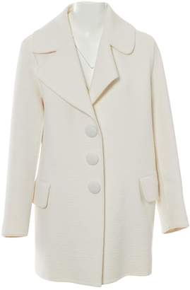 Marc Jacobs White Wool Coats