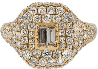 Shay 18kt Yellow Gold Diamond Pinky Ring
