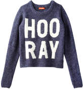 Joe Fresh Kid Girls' Graphic Sweater, Dark Blue Mix (Size XL)