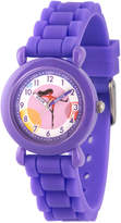 Disney The Incredibles 2 Violet Girls Purple Strap Watch-Wds000565