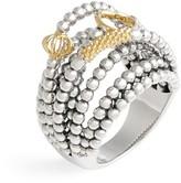 Lagos Women's 'Caviar Icon' Multi-Row Dome Ring