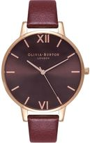 Olivia Burton **Chocolate Dial Watch
