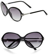 Vince Camuto 69.8mm Oversized Round Sunglasses