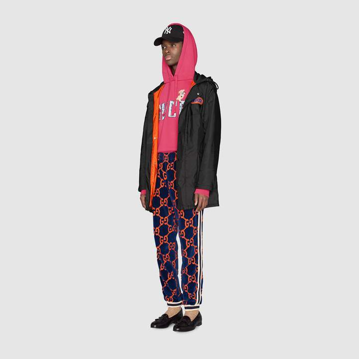 Gucci GG chenille jogging pant