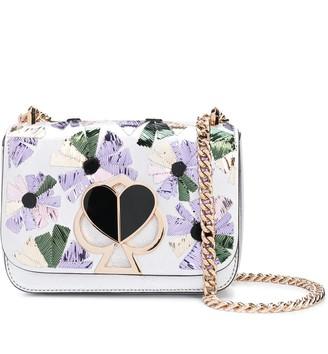 Kate Spade floral cross body bag