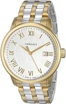 Versace Men's VQS050015 Business Two-Tone Stainless Steel Watch