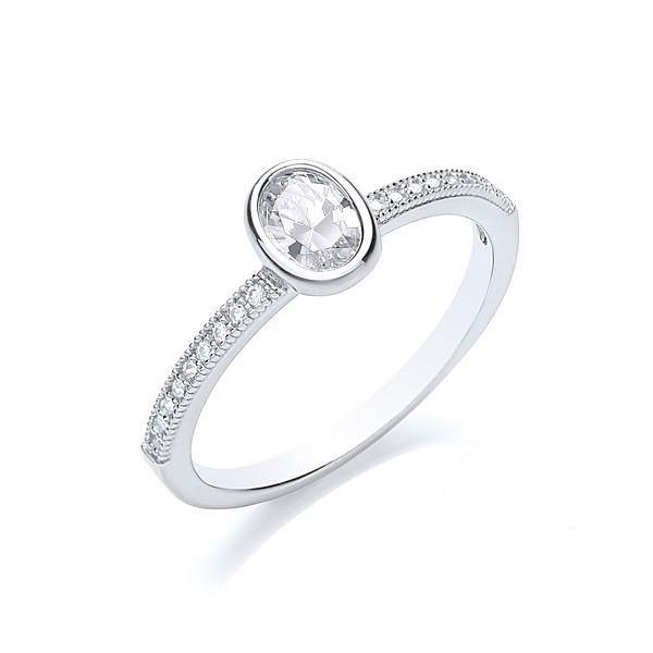 House of Fraser Bouton Stacker ring oval