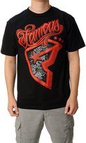 Famous Stars & Straps Men's Famous Patches Graphic T-Shirt-3XL