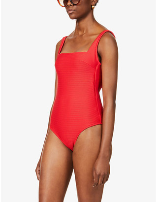 Heidi Klein Sardinia lace-up swimsuit