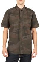 Volcom Men's Clutch Cotton Blend Woven Shirt