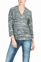 Lilla P Reversible V-neck Top